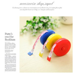 1pcs soft tape measure 150cm roulette tape measure tape retractable color portable ruler cm inch woodworking tools
