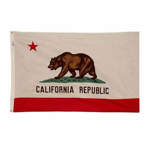 California Flag State of USA Banner 3x5 FT 90x150cm Festival Party Gift Sports 100D Polyester Indoor Outdoor Printed Hot selling