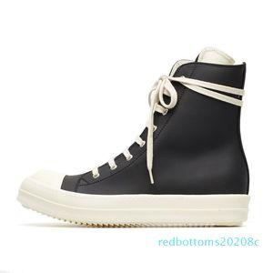 9Size 35-46 Hip Hop Mens Sneakers alte Scarpe casual amanti piattaforma retrò Tenis Sapato Masculino Sneakers carrello cerniera R08