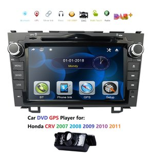 """for HONDA CRV 2007-2011 GPS Navigation 8"""" Car Stereo DVD Player Radio Rear CAM RDS USB SD SWC BT CAM IN Subwoofer Output DAB+ CD"""
