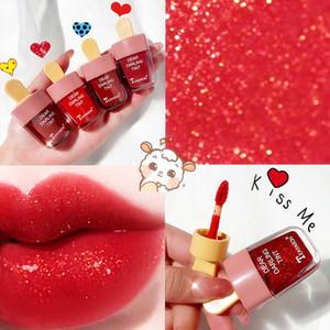 Ice Cream Mirror Glass Lip Gloss Moisturizing Light Gel No Sticky Shimmer Lipstick Liquid Lipstick Makeup 6 Color Lipgloss maquiagem