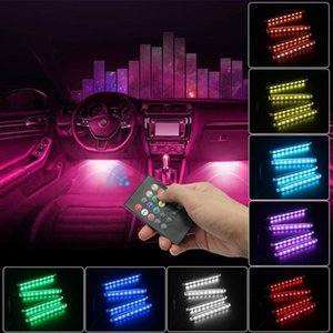 Car styling Decoration Light Interior Floor Foot LED Atmosphere RGB Neon Strip for E39 E46 E52 E53 E60 E90 F01 F20 F10 F30