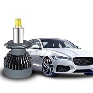 2pcs 6 sides H1 H7 H8 H11 LED Lamp car lights bulb 9005 3 9006 4 LED Headlight 3D 9012 HIR2 D2S D2R 12V 6000K