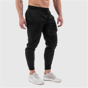 Mens Feste Farbe Skinny Sweatpants Mode Occident Trend Laufen Fitness Sport Bleistift Hosen Frühling Männliche Skateboard Casual Slim Hose