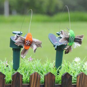 Danse énergie solaire papillons volant Fluttering vibrations Fly Colibri Flying Birds Jardin Jardin Décoration drôle Jouets HHB2247