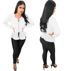 Femmes Designer T-shirts T-shirts Mode Longue manche V Cou Cou Slim Femmes Top Spring Automne Mesdames Sweet Tee