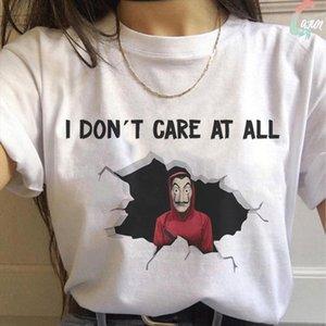 Summer New The House Of Paper T Shirt Money Heist La Casa De Papel Tshirt Gothic Tee Fashion Clothes T Shirt Female