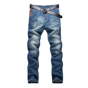 2021 uomini slim fit jeans primavera autunno autunno retrò blu stretch fashion tasche distenerino uomini moda fishions casaul man jeans marca howdfeo
