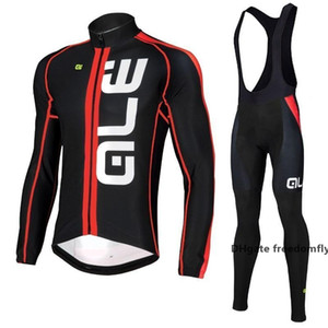 2020 Hot Sale 3 Styles Hot Winter Fleece Cycling Jersey Set Men \&#039 ;S Long Sleeve Ropa Ciclismo Mtb Pro Bicycle Cycling Clothing Bi