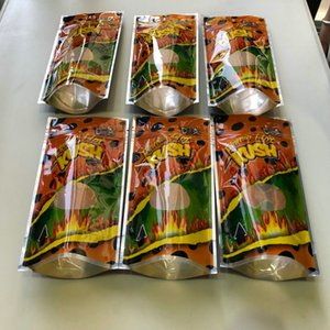 Flamin Hot Kush Resealable vazio Mylar Bolsas cookies Califórnia Sf 8ª 3.5-7g Mylar Childproof Bags toque de pele Runtz Package Embalagem qylXFW