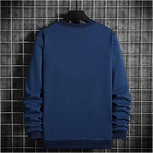 Mens Sweatshirt Boy Print Flowers Hip Hop O-Neck Male Sweater Sweatshirt Casual Fashion Men Loose Hoodie 5 Colors Asian Size M-4XL