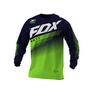 2020 MTB DH Motocross Off Road Mountain Bike Downhill Jersey MX BMX Ciclismo HPIT Fox FXR Racing Q1222