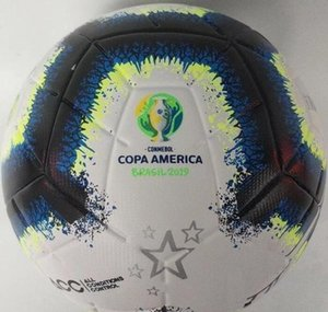Copa América 2019 balón de fútbol Kiev tamaño final de la PU 5 balones de fútbol gránulos antideslizante libre del envío bola de alta calidad