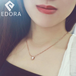 Classic Stainless Steel Necklace For Women Designer Jewelry Single Stone Necklace Women 2020 Statement Necklace Kn011 qyldtw bdecoat