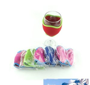 Other Barware Kitchen Dining Garden Drop Delivery 2021 Diy Neoprene Sleeve Insulator Drink Holder Wine Glass Koozies For Festival Party Cups