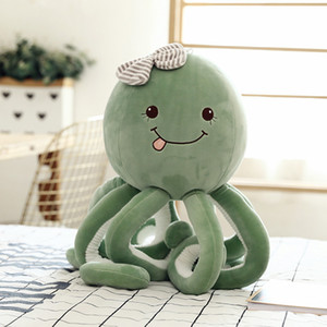 New Hot Creative Fun Cute Octopus Plush Toys Stuffed Animal Toys Dolls Kids Children Birthday Christmas New Year Gift Home Decorations