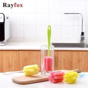 Cozinha Gadgets limpeza ferramenta Sponge Escova Para Copo de Vinho Garrafa Coffe Acessórios Copo de vidro do chá