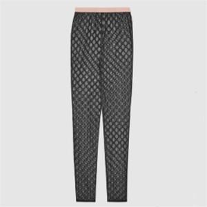 Lettres Tulle brodé leggings noirs sexy Collants pour femmes doux Femmes Bas Confortable Mesh Chaussettes Delicated cadeau