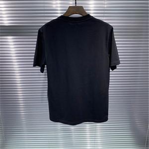 Мужская дизайнер футболка христианская мода мужчины повседневные футболки мужские улицы высококачественная буква печатать повседневная футболка с коротким рукавом