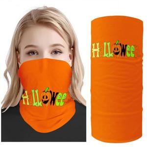 3D Бесшовные шарф Многофункциональный банданы оранжевый Bicycle шарф Щит Рыбалка маска Велоспорт Солнцезащитный Кемпинг Хэллоуин