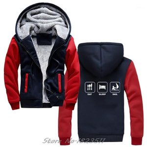 New Letter Creative Printed hoodies Eat Sleep Sail hoodie Sailer Sweatshirt Ape To Man Boat Irish Cool Jacket Tops Harajuku1