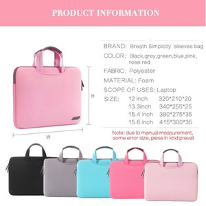Laptop Bag Notebook Case Cover Computer Sleeve for MacBook Pro Mac Book Air Retina HP Lenovo Dell 11 13 14 15 15.6 15.4 16 inch 201006