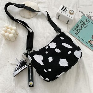 Summer All-match Ins Small Women Cow Bag With Shoes Pendant 2020 New Fashion Underarm Popular Shoulder Frog Bag 7SR5