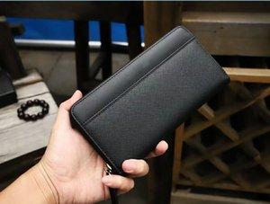 Top Luxurys Designers Bags 9005 Мужчины Классический ретро стиль роскошки сопоставляющие реальную кожу высшего качества мужской кошелек клип и коробка