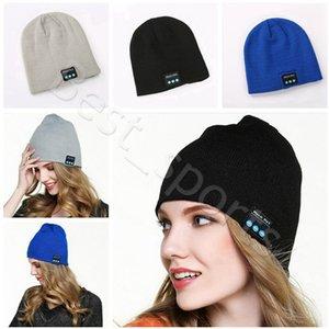 Bluetooth Headset Hat Music Beanie Cap 22*21.5cm Wireless Smart Music Winter Warm Knitted Caps CYZ2867