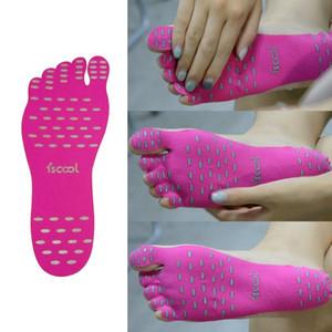 Новые силиконовые унисекс пляжные ноги Patch Pads Стельки мужчины удобные водонепроницаемые невидимые ботинки антискользящие коврики женские ножные колодки Patch Eef3905