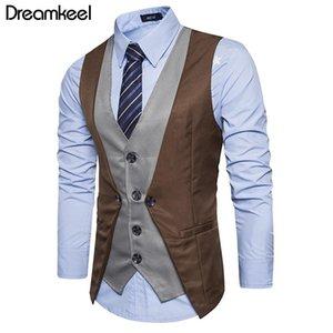 2021 Dreamkeel Mens Costudes Vest Nouveau Homme Top Boys Populaire Vente Popular Business Weaver Hommes Gilet Vêtements Vêtements Chaude Vente Y