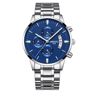 12 Farbe Orologio Masculino Männer Uhren Berühmte Top Marke Männer Mode Casual Dress Watch Nibosi Militär Quarz Armbanduhren Saat