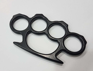 20PCS Silver Gold and Black Thin Steel Brass knuckle dusters Self defence Gear Free Shipping345348