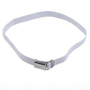 Children Monochrome Pants Belt Length Adjustable Belt Elastic Band Clothes Matching Accessories Gifts