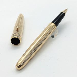 الفاخرة القلم مونتيل MST- المتأنق الملمس المعادن القلم اللوازم ثابتة القلم الأسطوانة المعادن القلم مع الأرقام التسلسلية والحبر الأسود 0.7mm