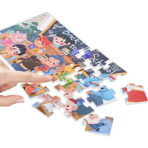 Customizable baby jigsaw, children's early education toy jigsaw, 28 pieces of paper puzzle,original pattern design