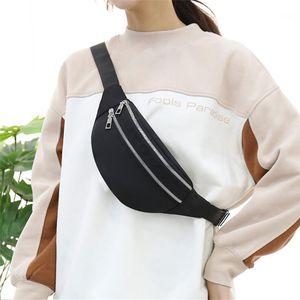 Portable Fanny Pack Man Women Waterproof Oxford Waist Bags Fashion Bum Bag Travel Crossbody Chest Bags Unisex Hip Bag 2020 New1