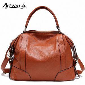 100% Top Echtes Leder Frauen Messenger Bags Erste Schicht Rindsleder Crossbody Taschen Weibliche Designer Schulter-Taschen-Tasche PS01 # CJ7H