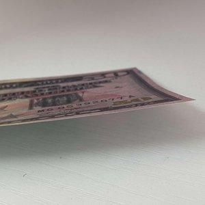 Rechnungen Preis 20 Banknoten Papier Geld Papier Geld Dollar Dollar Fake Bank Hinweis für 100 / Packung Prop Gifts Gefälschte Geschäfte Geld Männer HBRQE