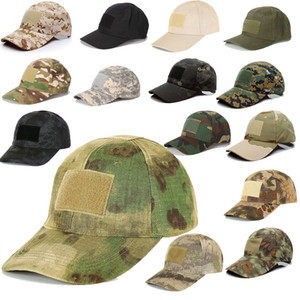 Outdoor Sports Camo Navy Hat Marines Army Hunting Combat Assault Baseball Cap Tactical Camouflage Cap P07-001