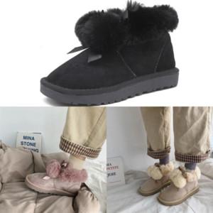 eLD32 designer lady boot Straight mini bailey ankle Classic II australian button Short snow boots womans plush womens girl woman winter