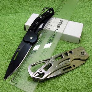 Stainless Steel Folding Fruit Knife Outdoor Self-Defense Knife The End Comes With A Auckle Ergonomic For Free DHL