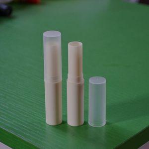 100pcs lot 4ml Lip balm packaging tube, repackaging DIY lipstick mouth wax plastic pipe,Refillable Bottles