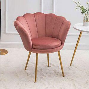 Salon Fauteuil nordique Canapé souple Moderne Sofa Single Canapé Cintre Maquillage Clothestore Lumière Fauteuil de luxe Fauteuil Salon