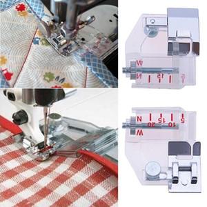 Ajuste de bias ajustable Presser Pie de plástico Ajuste de plástico Pies Máquina de coser Máquina Cinta Fabricante Proveedores Kit de costura Accesorios