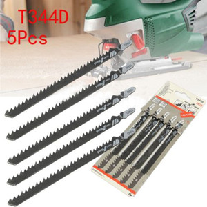 5pcs  Set 6 T T -Shank Jigsaw Blades For Wood Plastics Cutting Fast Cutting Tools T344d