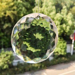75mm Cristal blanc Crystal Crystal Suncatcher Suncatchers pour lustres Beads Accessoires Ornement Accueil Décoration DIY Cadeaux H BBYSPM