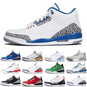 Newest Snakeskin\wholesale\rretro 3 3s fragment jumpman men sport shoes Midnight Navy UNC mens trainers sports sneakers