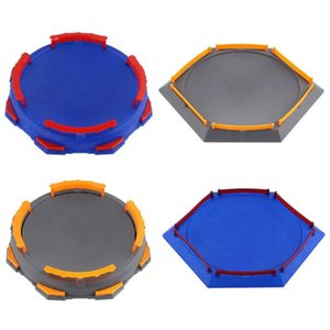 Popular Arena Disk For Beyblade Burst Gyro Exciting Duel Spinning Top Stadium Battle Plate Toy Accessories Boys Gift Kids 201014