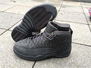 Erkek ayakkabı erkekler Sıcak Satış Ucuz Tasarımcı Spor Tenis İçin Ayakkabı Koşu 12 Xii Psny Siyah 12s l Basketbol Sneakers Çevrimiçi Ayakkabı